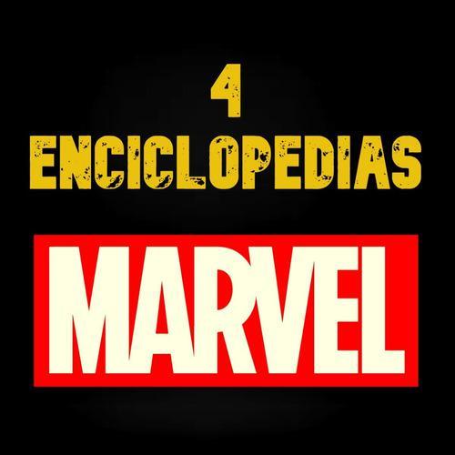 4 Enciclopedias Marvel