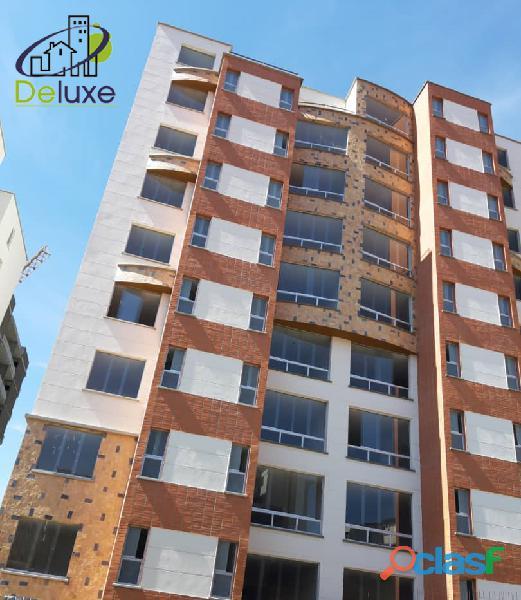 Cómodo Apartamento de 80 m2 en obra gris, vigilancia 24h en