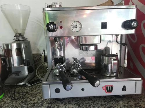 Maquina Para Hacer Cafe C/molino Express Cafetera Italiana