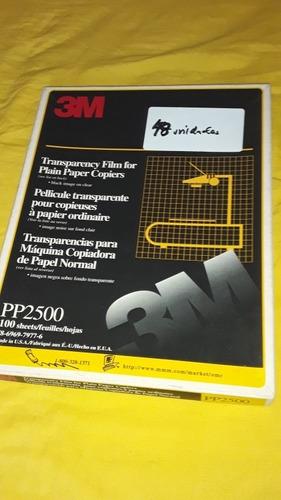 Transparencias Para Máquinas Copiadoras De Papel Normal.