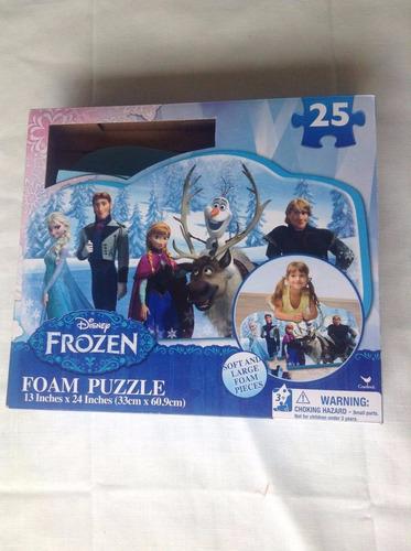 Alfombra Foami De Frozen Disney 25 Piezas