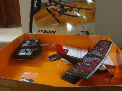 Avion Control Remoto Biplano 40$