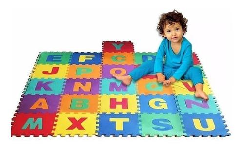 Kit De Alfombra De Foami Para Bebé 10 Láminas De 30x30cm
