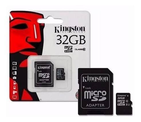 Memoria Micro Sd Hc 32gb Kingston Canvas Original Sellada.