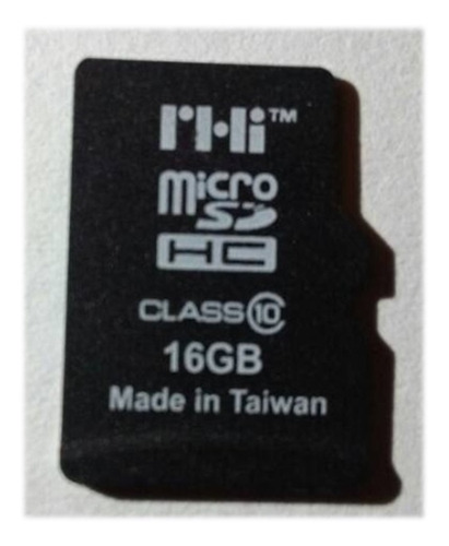 Memoria Micro Sd Marca Rhi Original De 16 Gb Clase 10