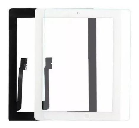 Mica Pantalla Táctil Tablet iPad 3, iPad 4 Blanco, Nueva