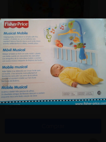 Movil Para La Cuna Del Bebe Marca Fisher Price