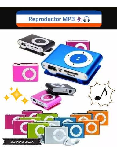 Reproductor Mp3 Shuffle Clip Portátil - No Incluye Memoria