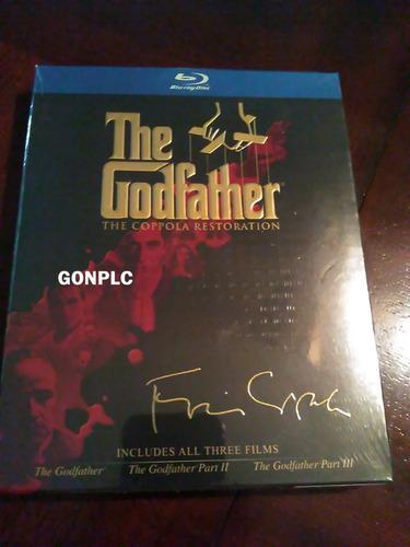 Trilogia Blu Ray El Padrino The Godfather Editada Director