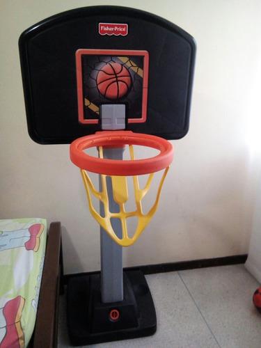 Aro De Basket Juguete Fisher Price Para Niños Usado
