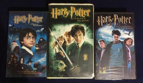 Películas Harry Potter Vhs Colección Vintage