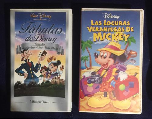 Películas Variadas Disney Originales Vhs Colección Vintage