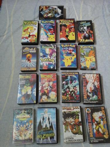 Peliculas Vhs Pokemon Y Muñecos De La Películas