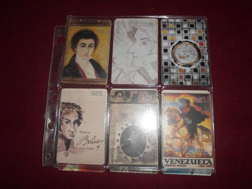 Targetas Tlfs Colecciones Cantv Simon Bolivar