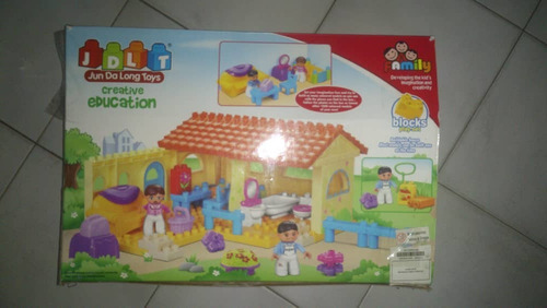Casa De Muñecos Jdlt Jun Da Long Toys Como Nueva