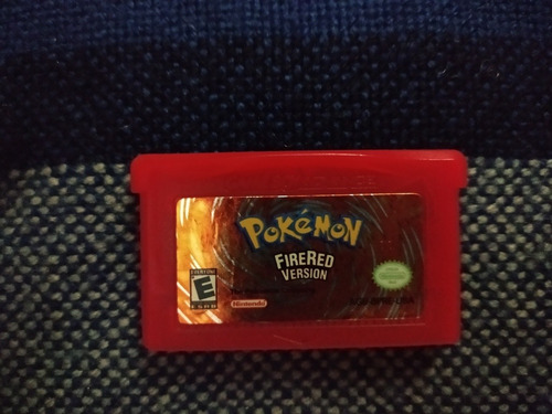 Juego Pokémon Firered Versióngame Boy Advance 10v