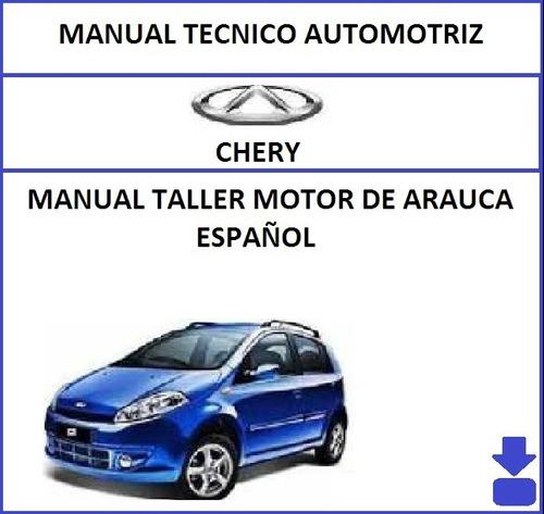Manual De Chery Arauca De Motor En Español