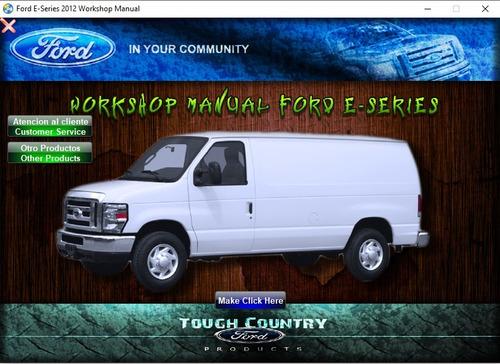 Manual De Taller Ford Econoline (e-series)