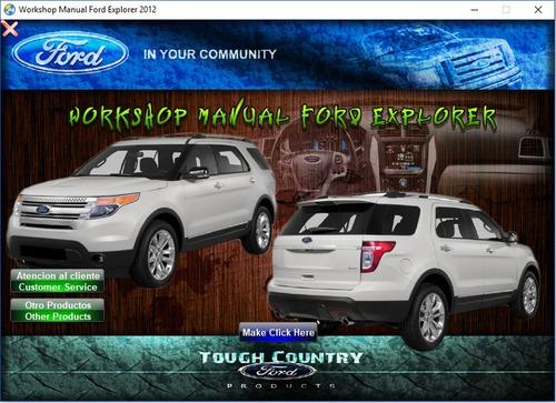 Manual De Taller Y Reparación Ford Explorer