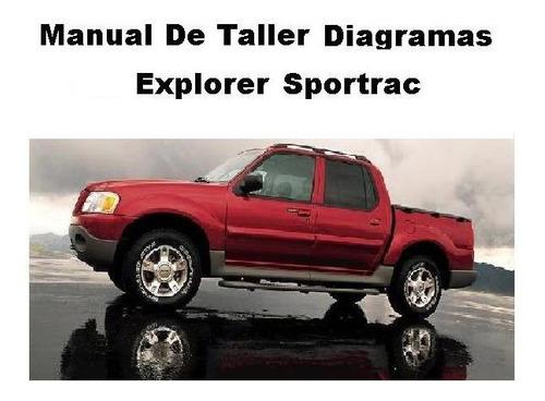 Manual Taller Ford Explorer Sport Trac  Español
