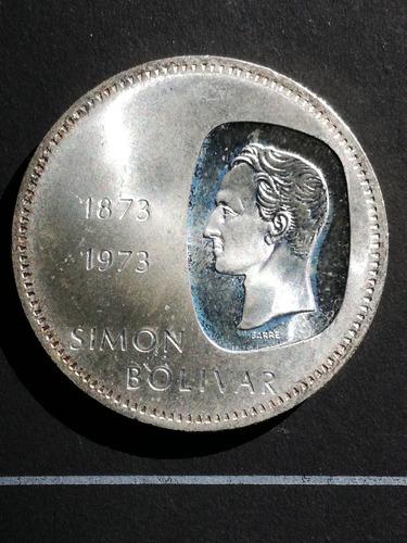 Moneda De Plata 10 Bolivares  Doblon Centenario