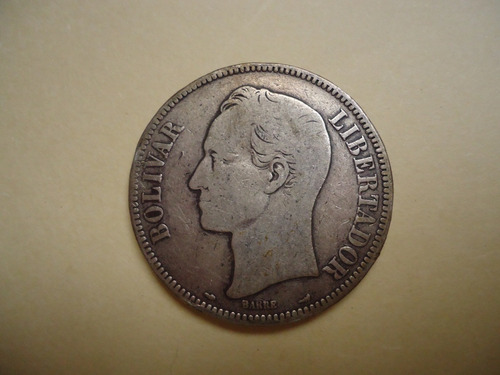 Moneda Fuerte De Plata Lei 900 Año