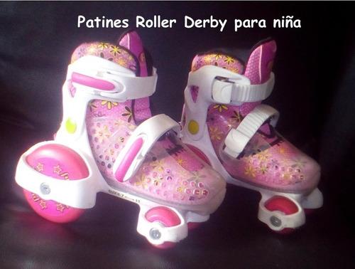 Patines Roller Derby Para Niña