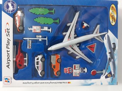 Set De Avion Grande Y Pequeño, Juguetes Economicos