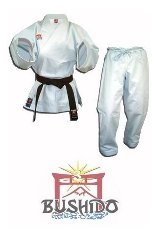 Uniforme, Kimono De Karate Bushido Liviano Talla 7, 8 Y 9