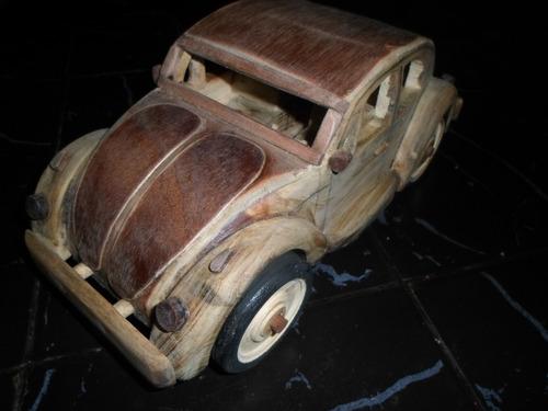 Volkswagen De Madera Artesanal