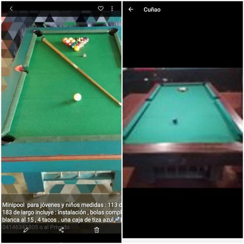 Mesa De Pool Y Billar