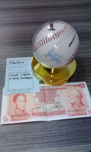 Pelota Beisbol Firmada Vizquel - Concepcion Remate