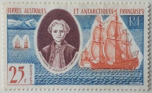 Estampilla De La Antartica Francesa. Colonia Francesa.