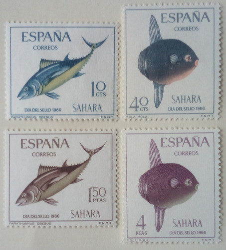 Estampillas De España. Sáhara Español. S/ Día Del