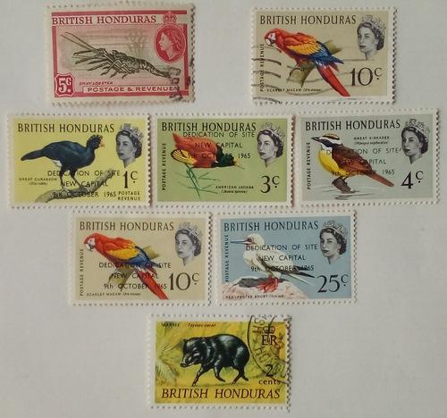 Estampillas De Honduras Británica - Belice. Series