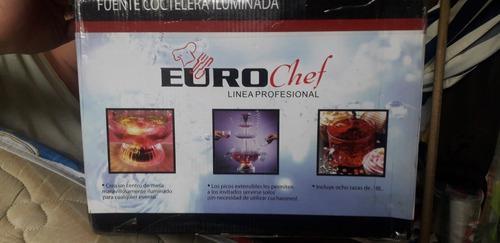 Fuente Coctelera Iluminada Euro Chef