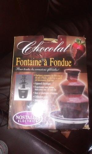 Fuente De Chocolate Nostalgia Electrics
