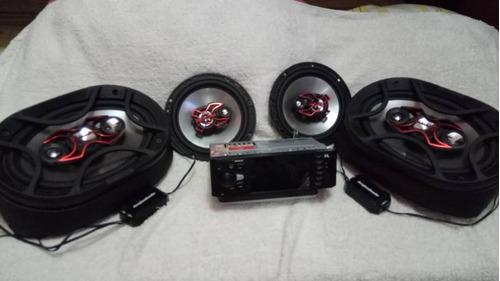 Reproductor Rock4 P/auto Mp3/video Mp4/usb/aux/micsd/bluetoo