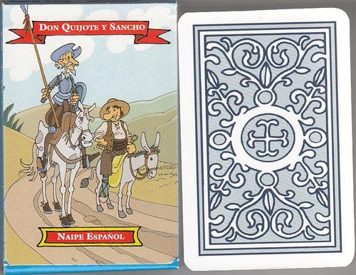 50 Barajas Cartas Naipes Don Quijote Y Sancho Españolas