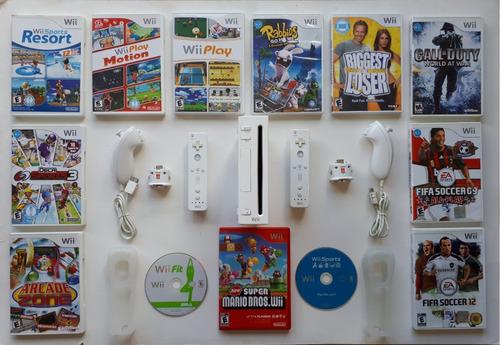 Consola Nintendo Wii En Combo