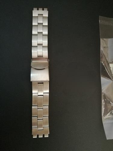 Correa Reloj 20 Mm 19 Milimetros Acero Swatch Rolex Cartier
