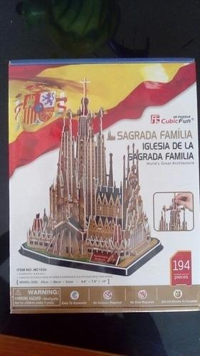 Cubicfun 3d Sagrada Familia España Nuevo Y Sellado