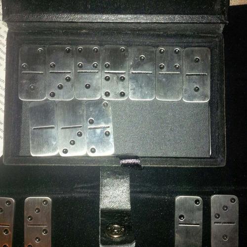 Juego De Domino En Acero Inoxidable
