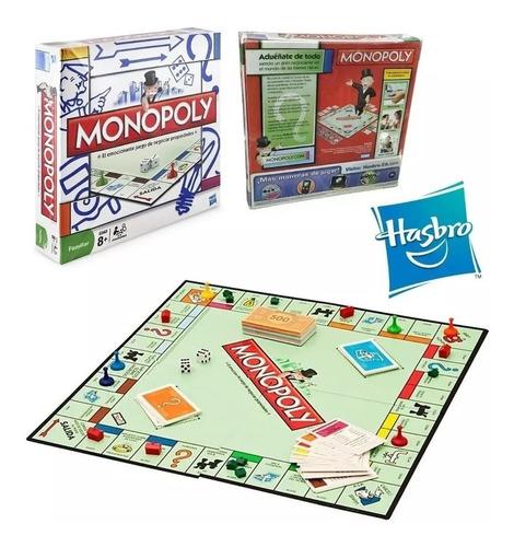 Juego De Mesa Monopolio Original De Hasbro Oferta
