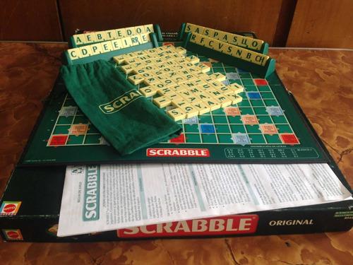Juego De Mesa Scrabble Original Mattel Serie Año  Usado