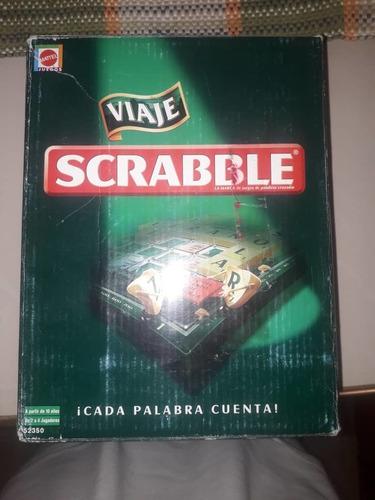 Juego De Mesa Scrabble Viajero Portable