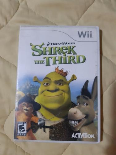 Juego De Wii Original Shrek The Third