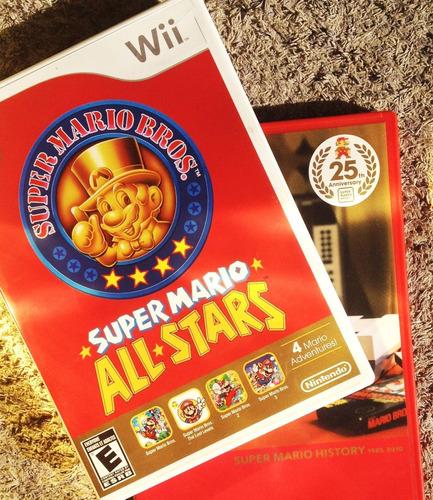 Juego Super Mario Bros - 25 Aniversario - Para Wii