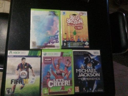 Juegos De: Wii Y Xbox