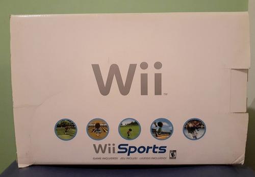 Nintendo Wii Sports Con Accesorios Y Juegos